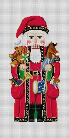 SR/4296 Santa & Pockets of Toys 18 13M
