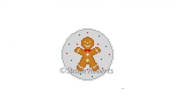 SR/5904 Gingerbread Boy Round