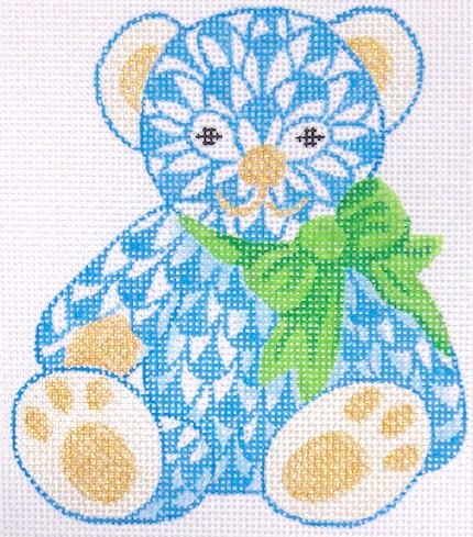 KDN/OM183 Mini Fishnet Teddy w Bow