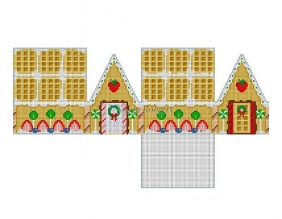 SR/6251 Strawberry Waffle Gingerbread House