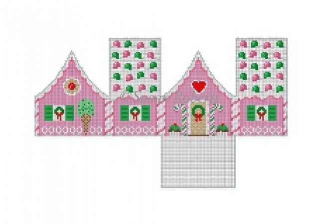 SR/6256 Gum Drops Peppermint Gingerbread House