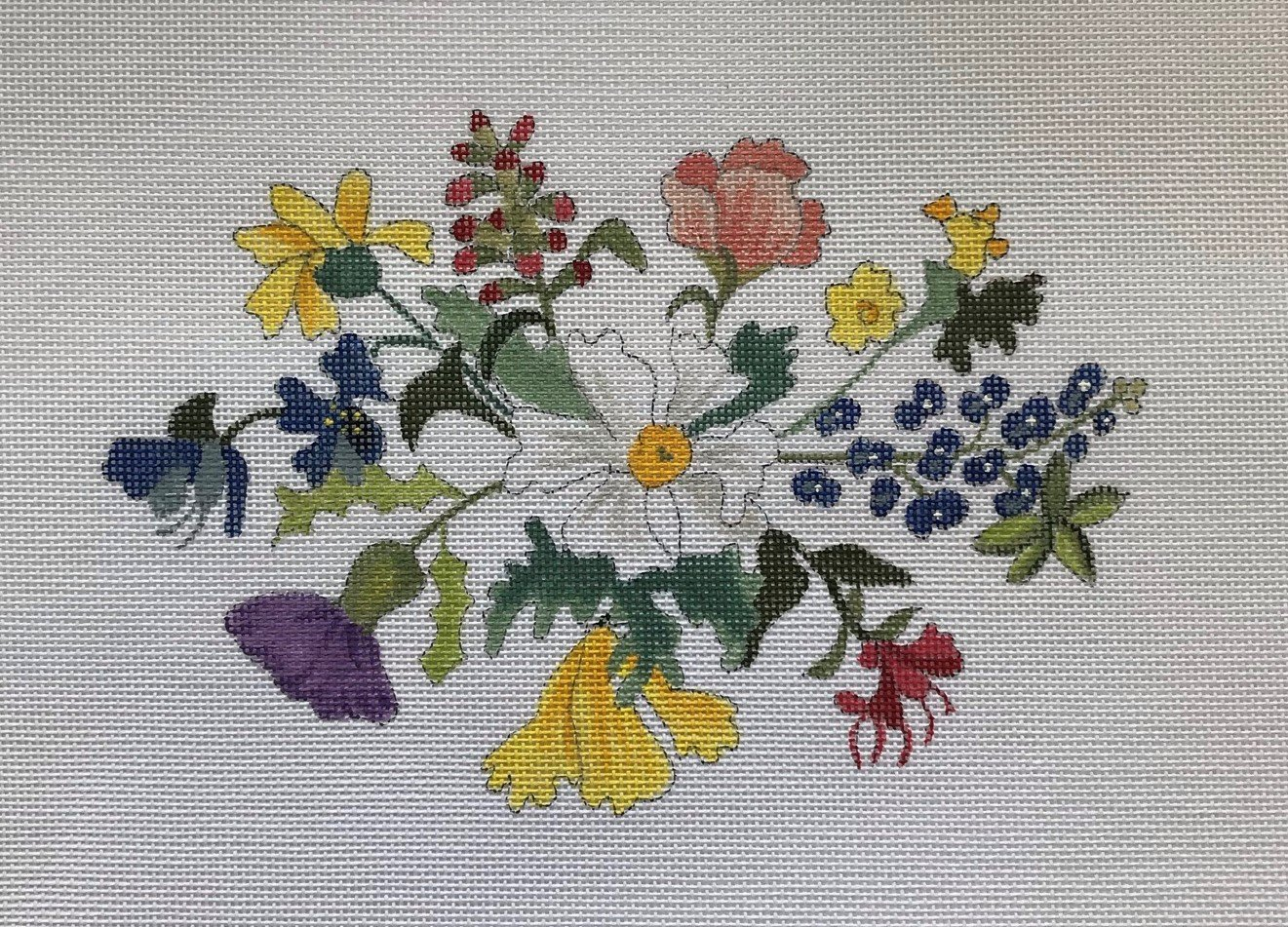 CWT/705 Wildflower Oval