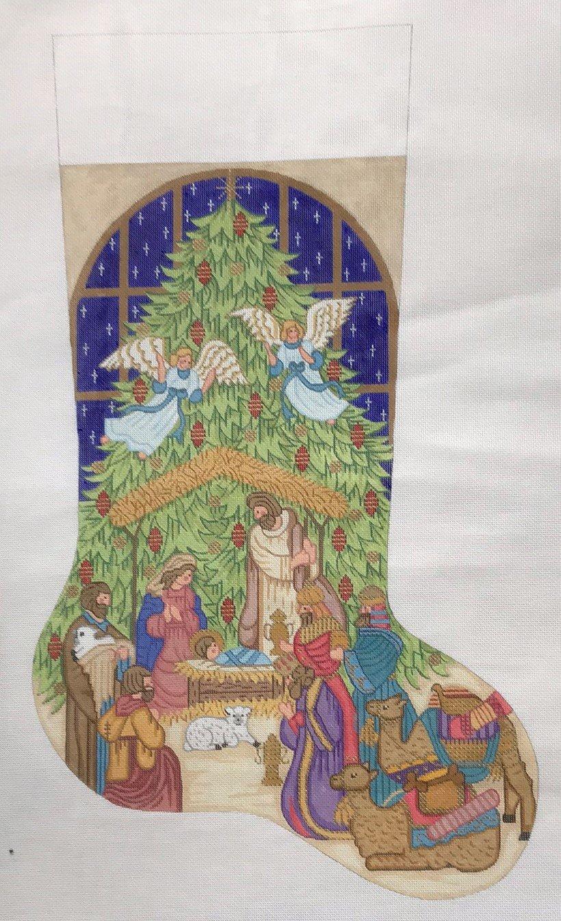 Alexa/7337 Nativity Stocking