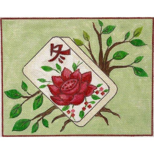 AP/4191 Floral Mah Jongg
