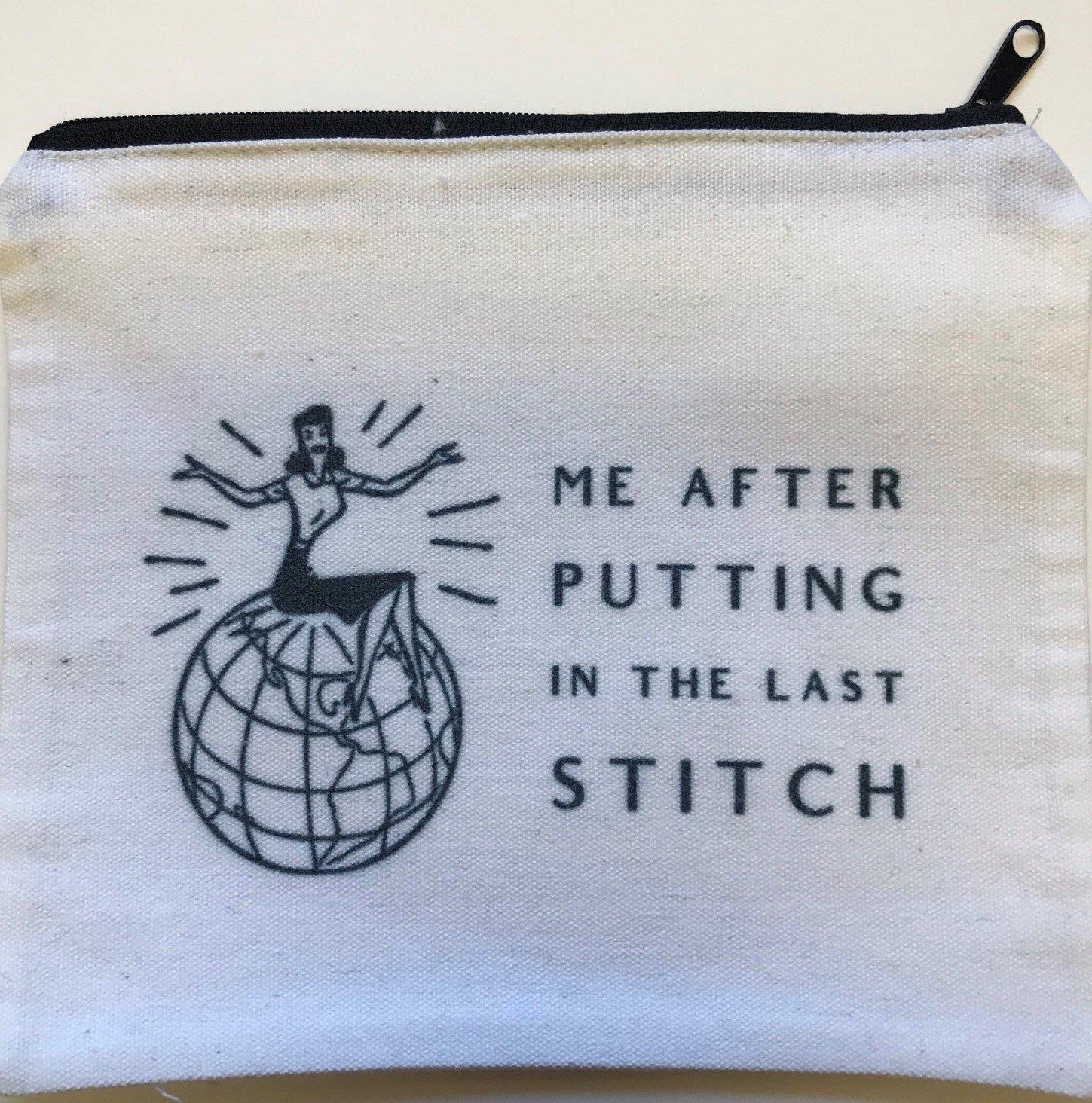 AP/PO103 Putting in Last Stitch - Small Pouch