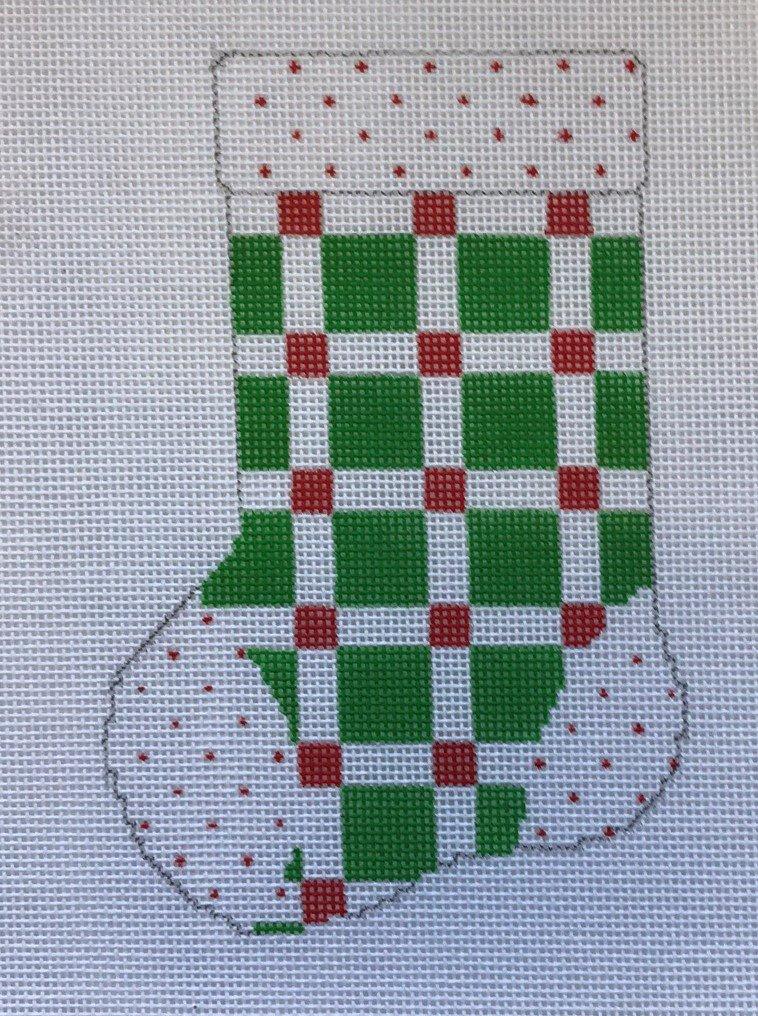 ASIT/98 Green Square Mini Stocking