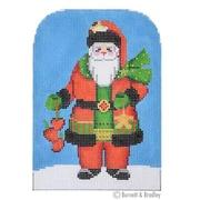 BB3204 Santa Holding Apples