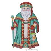 BB/6004 Large Santa Series Turquoise & Red Robe/Hat Kit #4