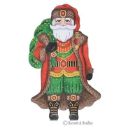 BB/6010 Large Santa - Red Coast Holding Green Sack Kit #6