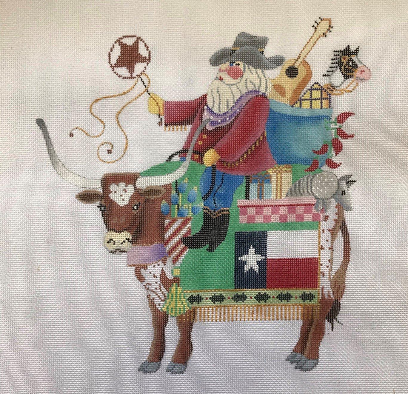 BSD/B272 Texas Longhorn Santa