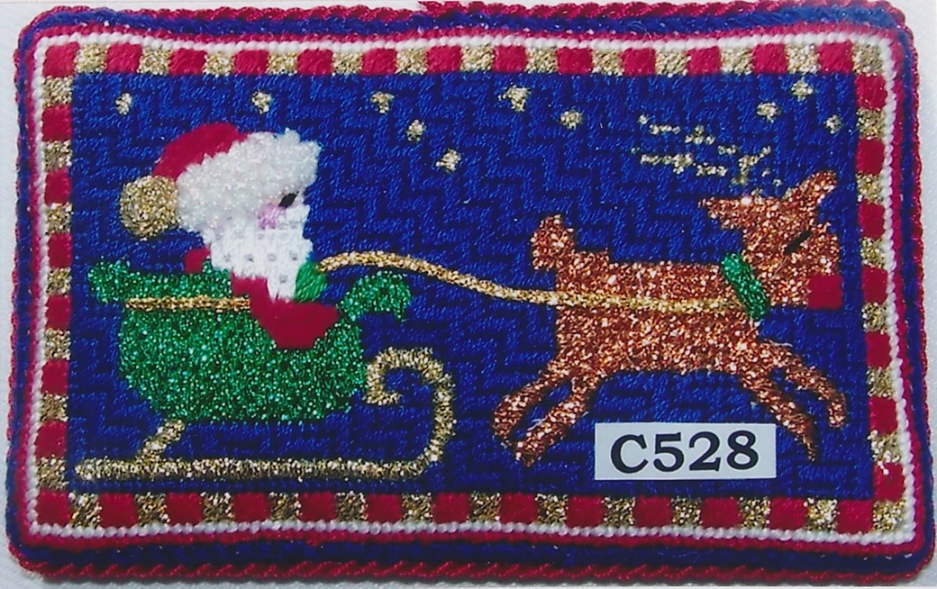 P&M/C528 In a One Horse Open Sleigh
