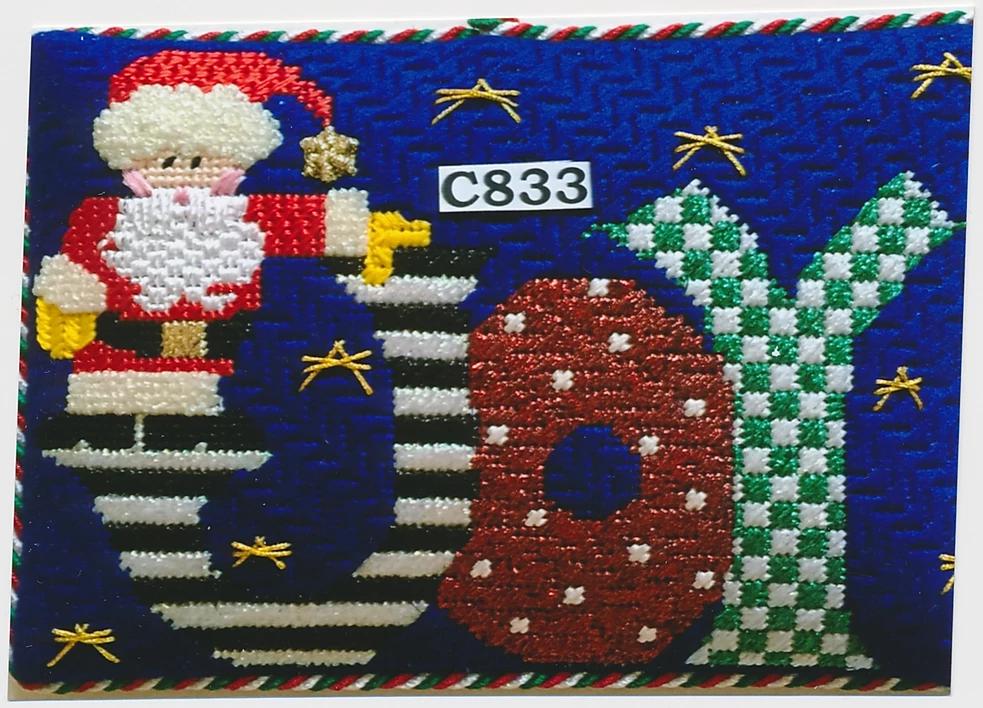 P&M/C833 Santa's Joy