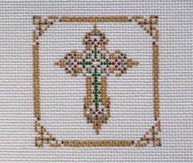 CC/DW1209 Flower Cross