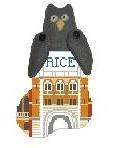 KSD/CM474R Rice U Lovett Hall w Owl