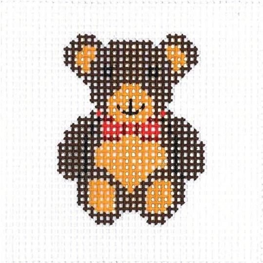 CN/A28 Bear Beginner Needlepoint Kit for Ages 7+