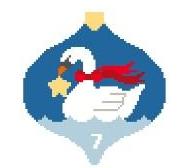 KSD/CO337 Seven Swans Swimming