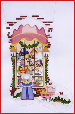 SC/CS111 Girl in Toy Store Window
