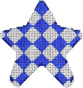 AT/CT2004B Blue Harlequin Mini Star