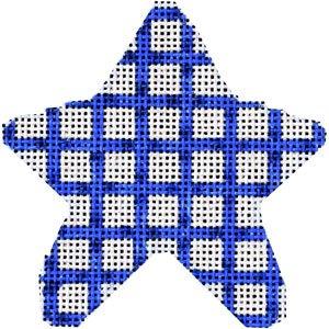AT/CT2005B Blue Woven Mini Star