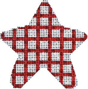 AT/CT2005R Red Woven Mini Star