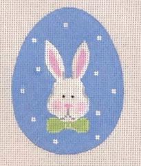 PBD/EE06 Bunny Face Flat Egg