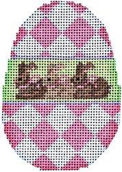 AT/EG320 Pink Harlequin Egg