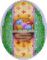 AT/EG466 Mini Egg Basket/Green Mini Egg