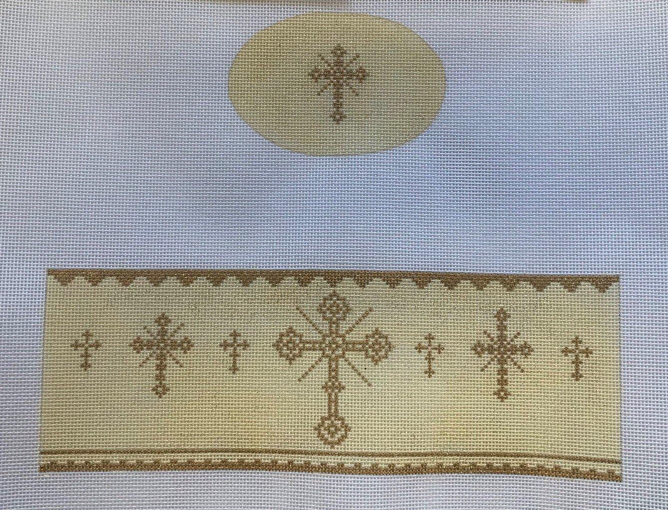 FS/FS03 Gold Crosses Limoges Box