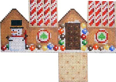 AT/HH402A Midi Cottage Marshmallow Snowmen