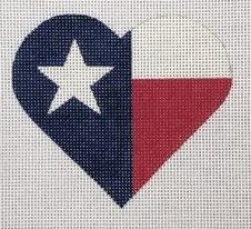 PBD/HT30 Texas Flag Heart
