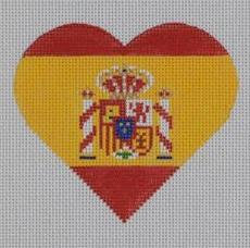 PBD/HT41 Spanish Flag Heart