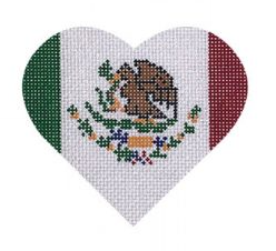 PBD/HT43 Mexican Flag Heart