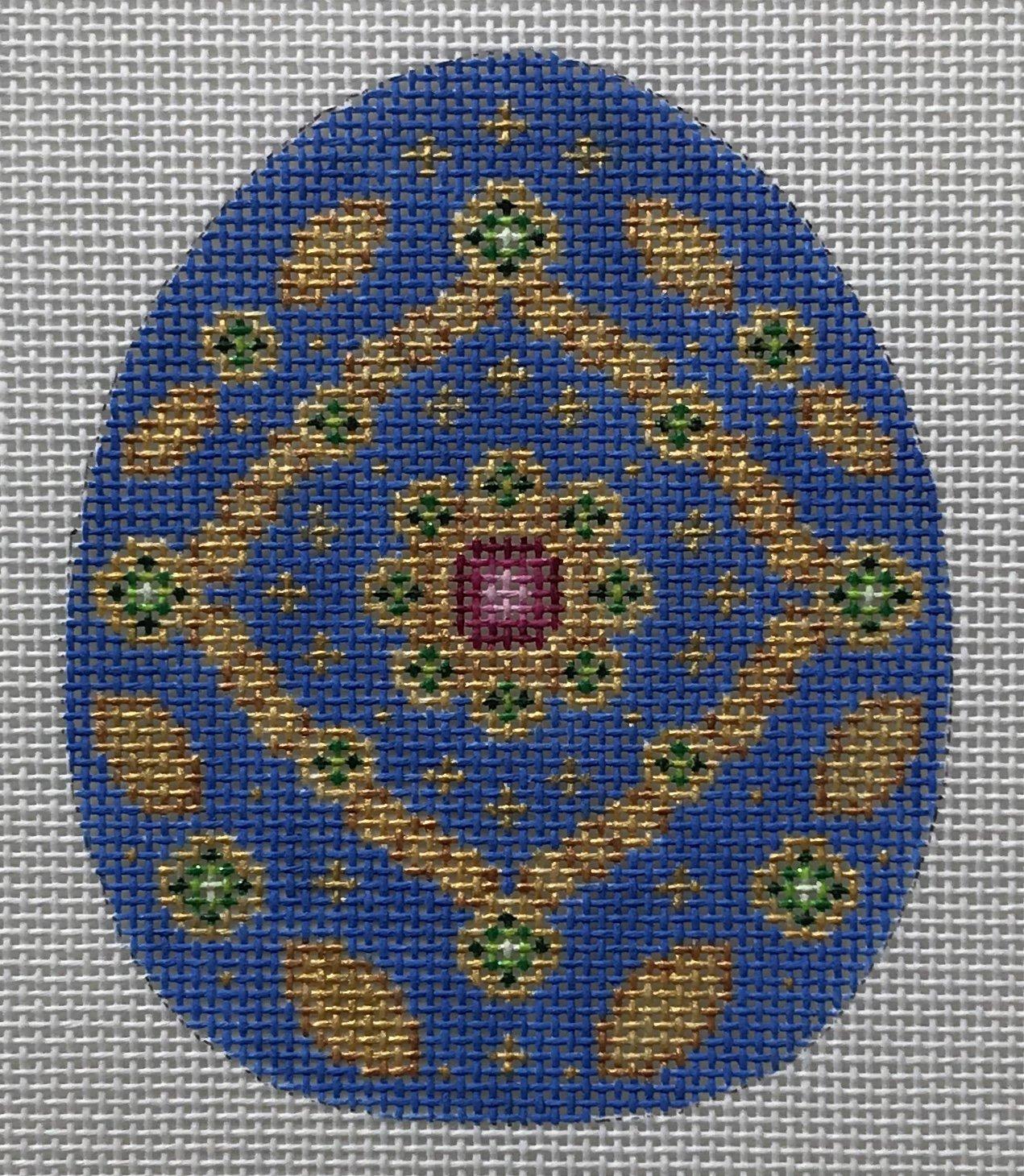 BB/2694 Royal Blue & Gold