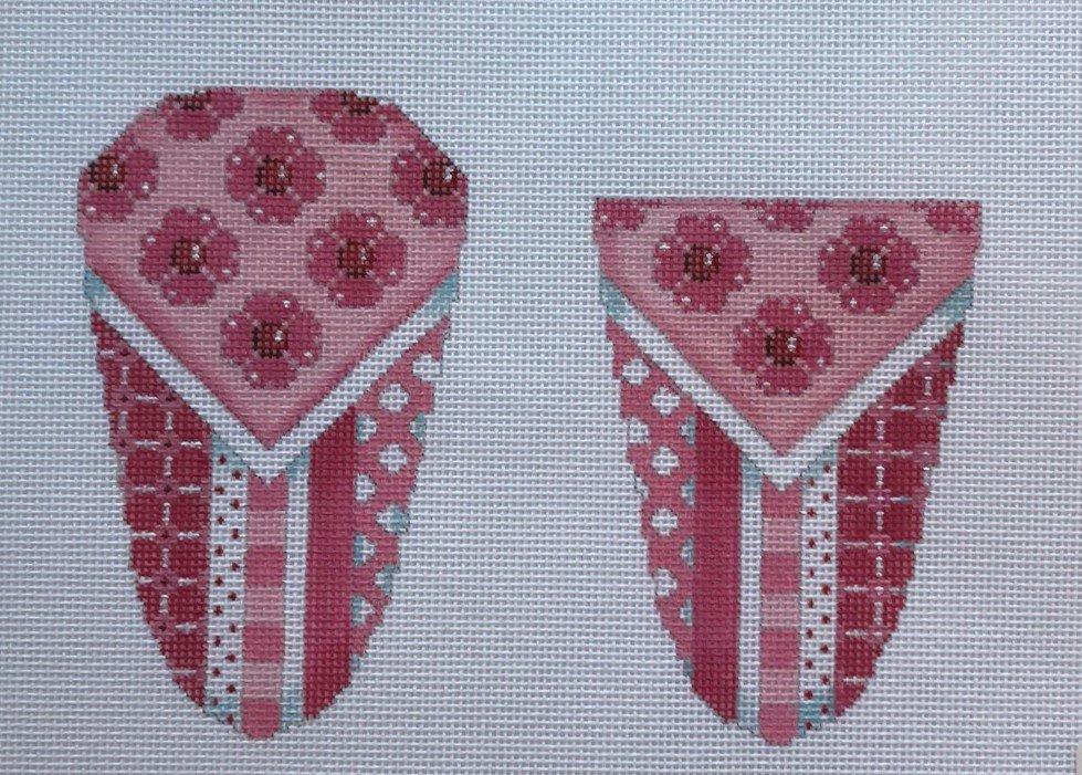 AT/AC127L Heart Flowers/Patterns Scissor Case