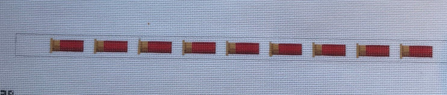 TSN/CS03R Red Shotgun Shell Crokie Strap