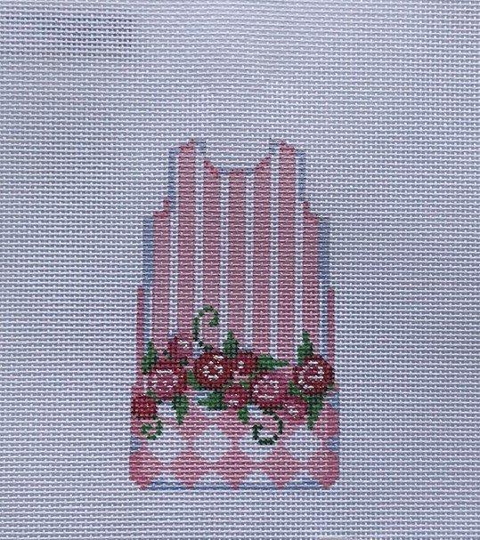 TSN/MS82 Stripes/Roses/Harlequin Mini Shift