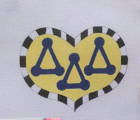 PPD/BBDDD10 Tri-Delt Heart