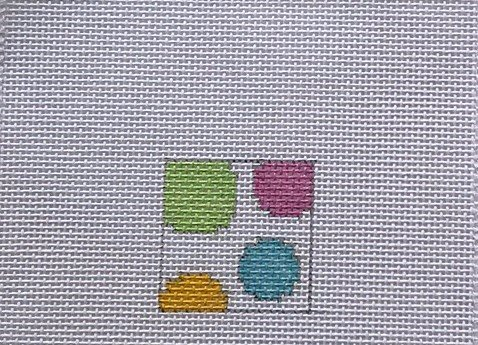 BGD/390PAL Square Dots Bright
