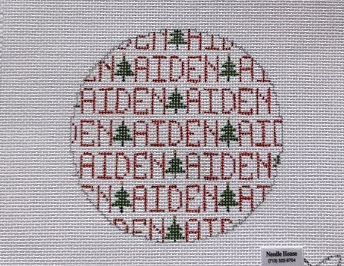 BGD/589 Aiden Ornament with Trees