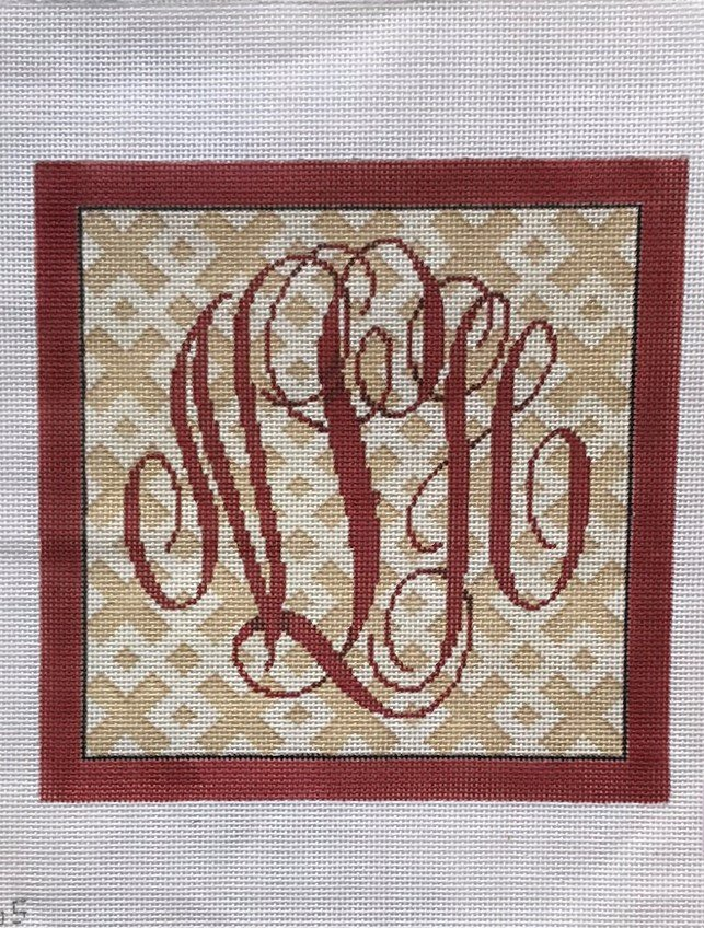 AT/AA765 Monogram with border