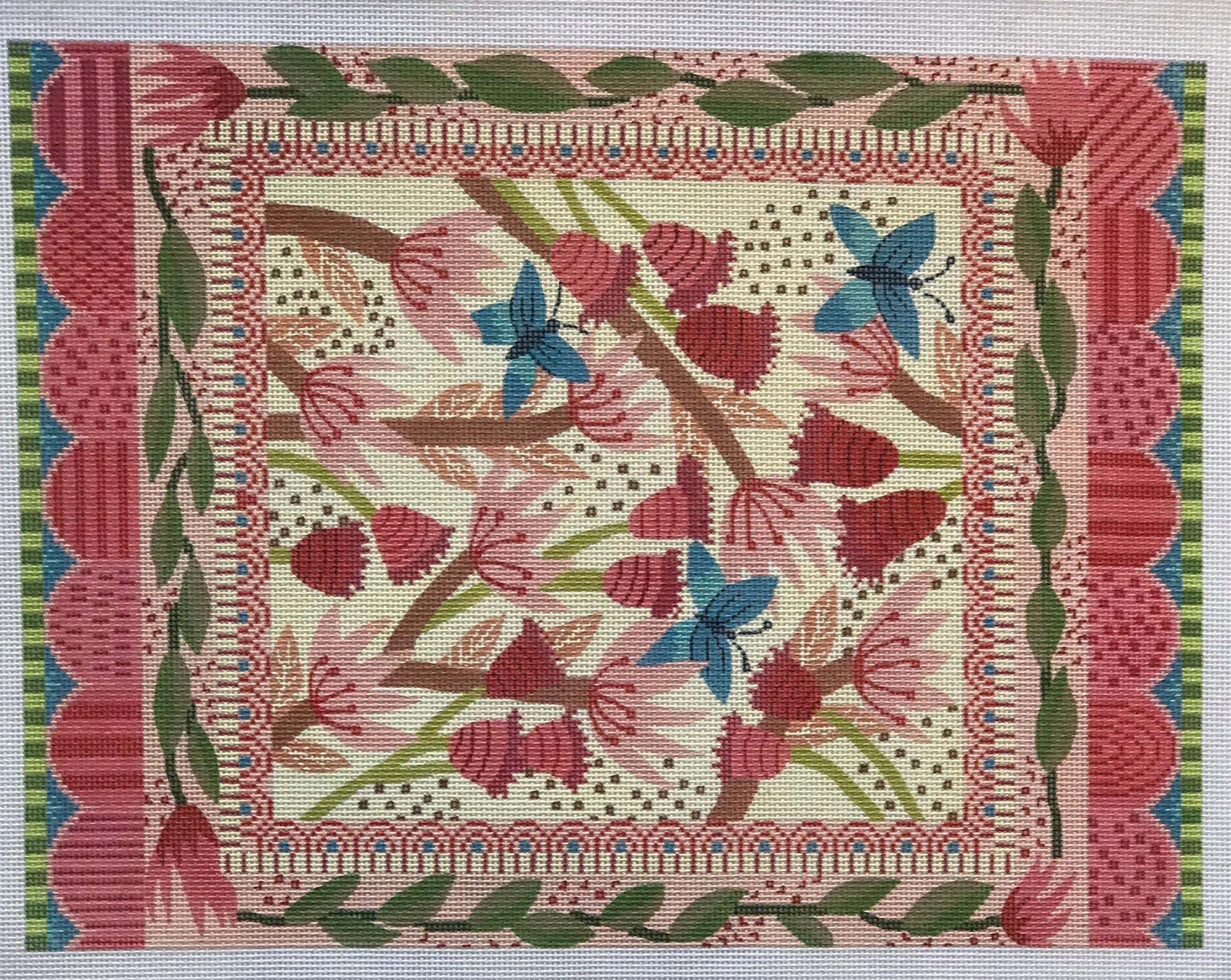 TCN/LeeP1278 Flowers & Butterflies