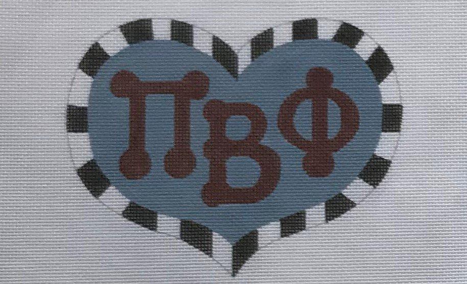 PPD/BBPBP10 Pi Beta Phi Heart
