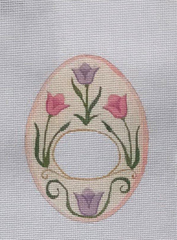 RCD/HO1437 Pink Floral Egg