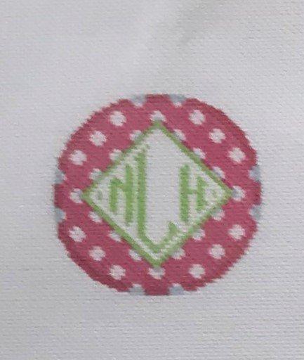 TSN/IJ806  Polka Dot Initial