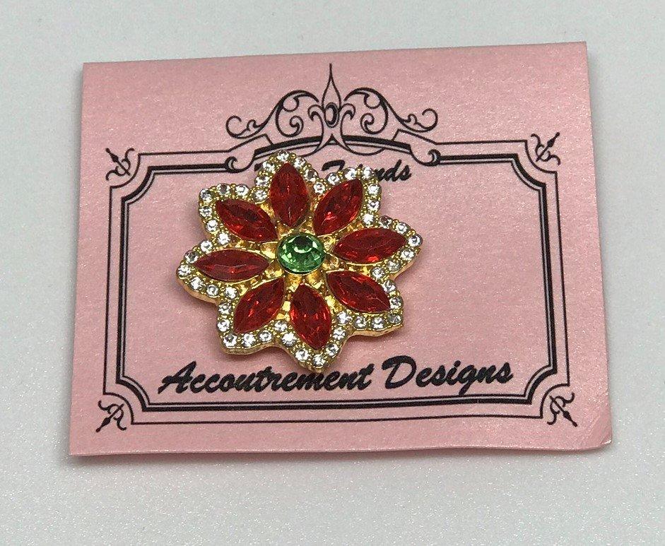 AD/CH001 Poinsettia Magnet