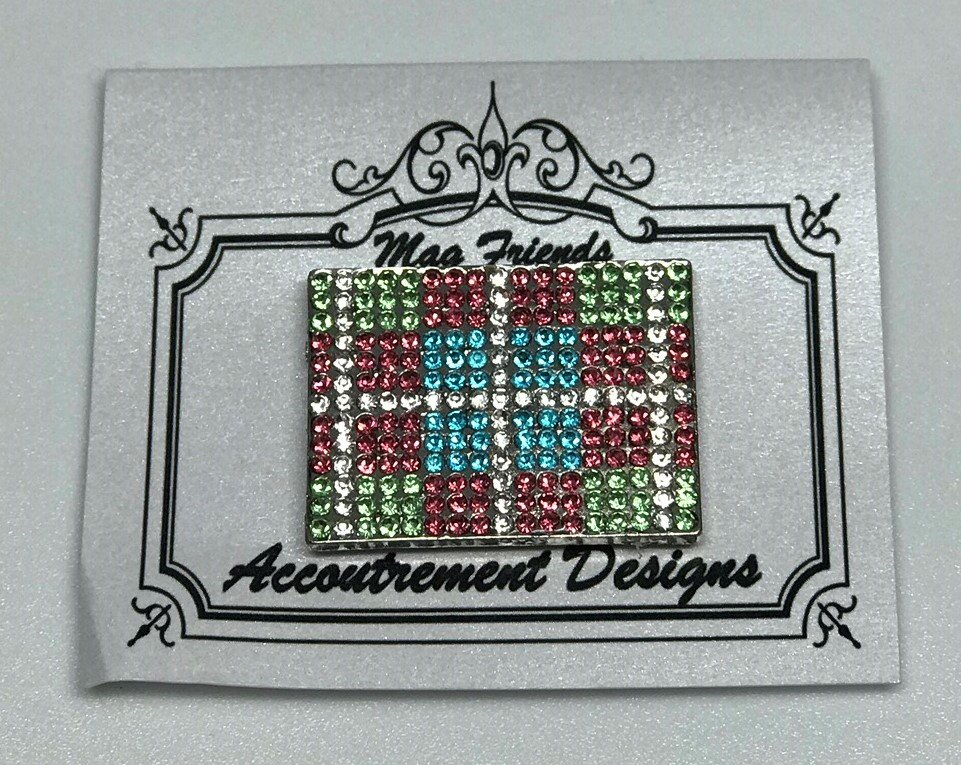 AD/MM005 Blue/Pink/Green Magnet
