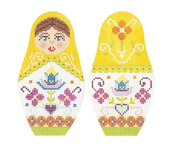 KB/1599 Folk Russian Dolls - Large