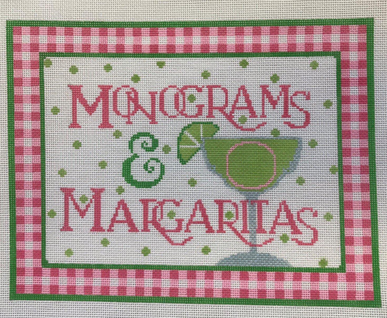 KDS/M100 Monograms & Margaritas w Magnet
