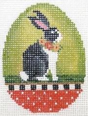 TCN/KEA26-18 Chartreuse Mama Rabbit Egg