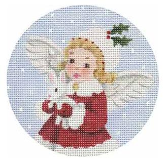 MSD/1885F Bunny Angel Round